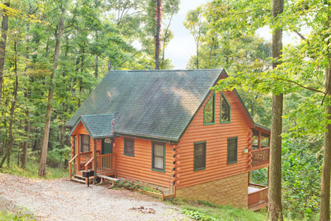 Nighthawk Cabin in Hocking Hills, Ohio