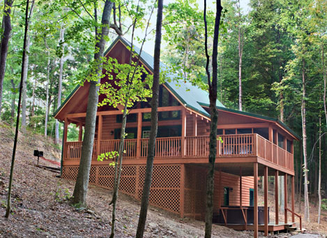 Wood Thrush Cabin in Hocking Hills, Ohio